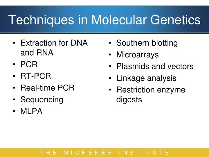 Extraction for DNA and RNA