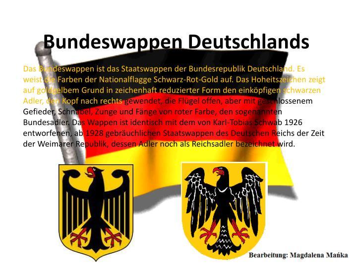 Bundeswappen Deutschlands