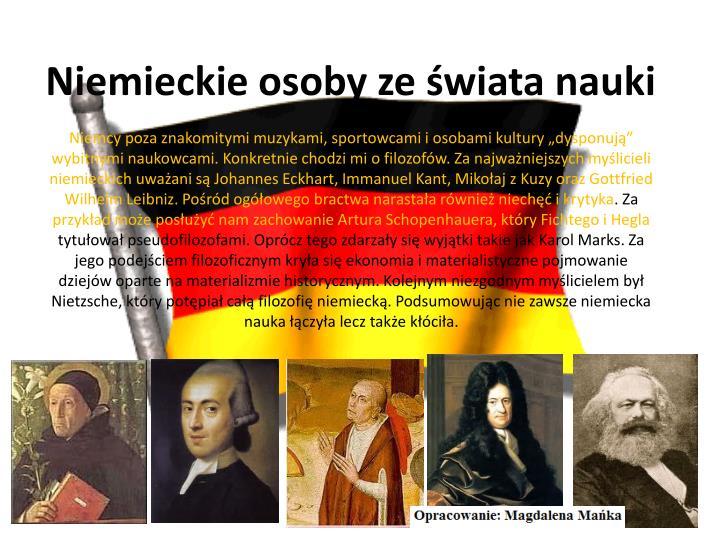 Niemieckie osoby ze świata nauki