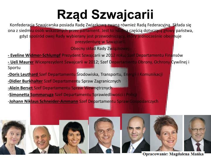 Rząd Szwajcarii