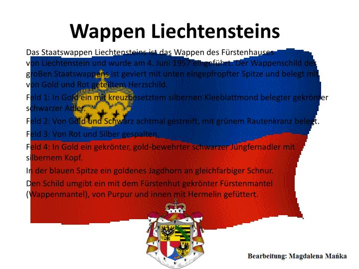 Wappen Liechtensteins