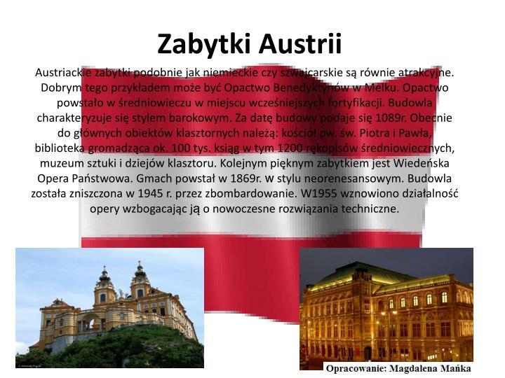 Zabytki Austrii
