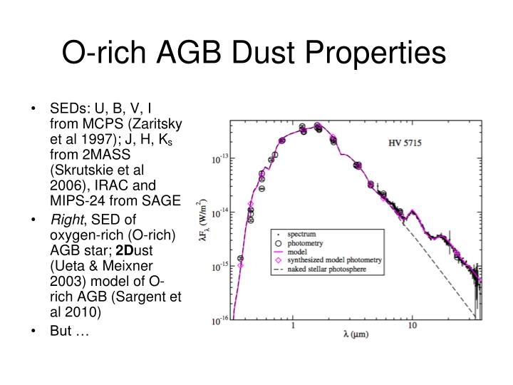 O-rich AGB Dust Properties