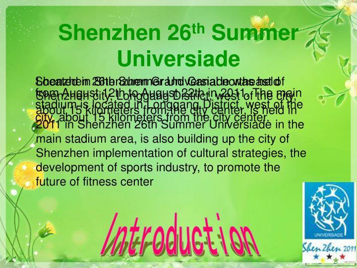 Shenzhen 26
