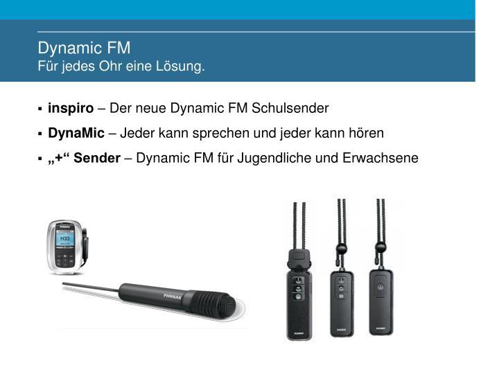 Dynamic FM