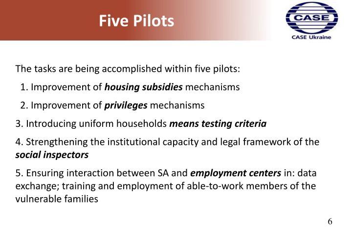 Five Pilots