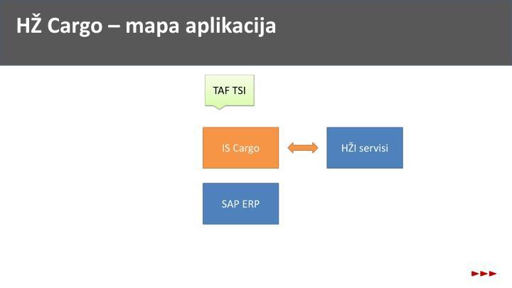 HŽ Cargo – mapa aplikacija