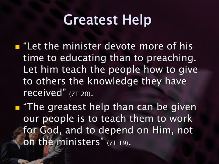 Greatest Help
