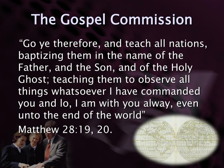 The Gospel Commission