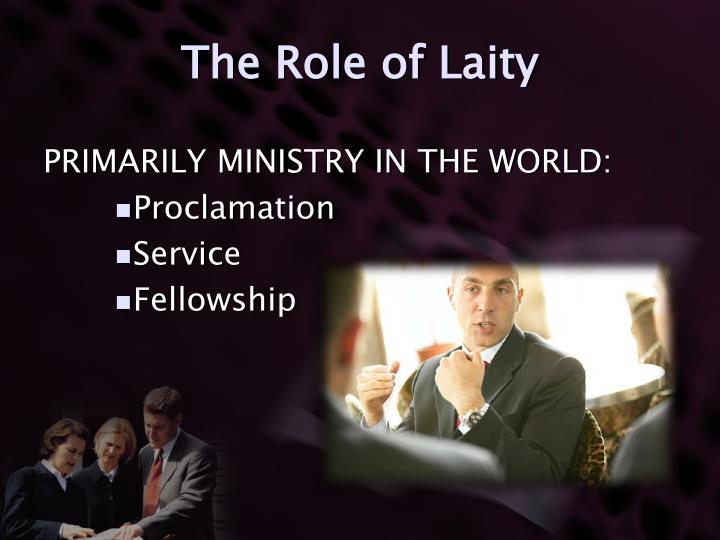 The Role of Laity