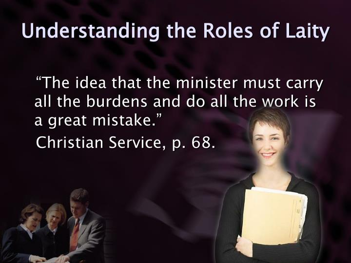 Understanding the Roles of Laity