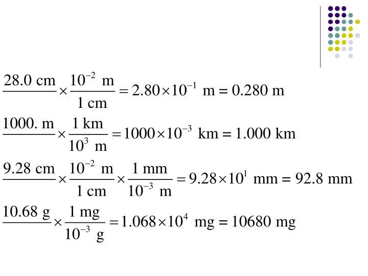 Complete the following metric conversions 28 0 cm to mm 1000 m to km 9 28 cm to mm 10 68 g to mg