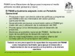 fmam como mecanismo de apoyo para incorporar el medio ambiente mundial presente y futuro
