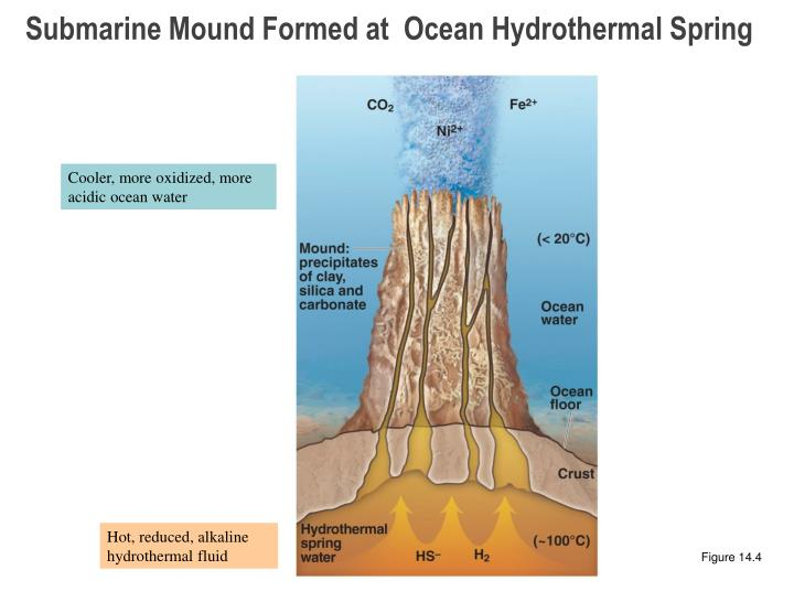 Submarine Mound Formed at  Ocean Hydrothermal Spring