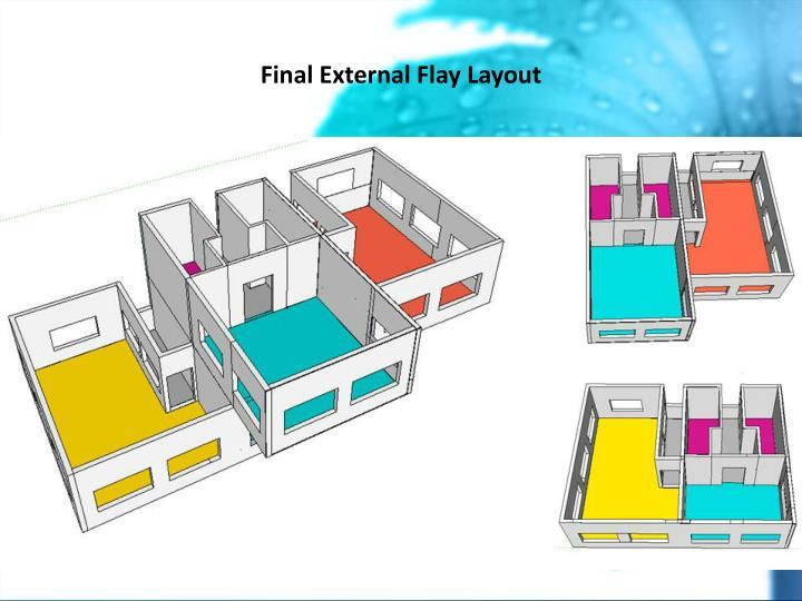 Final External Flay Layout