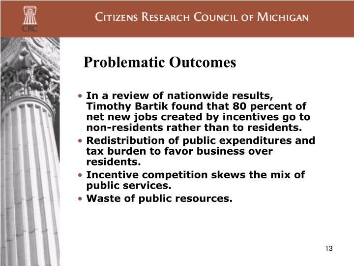 Problematic Outcomes