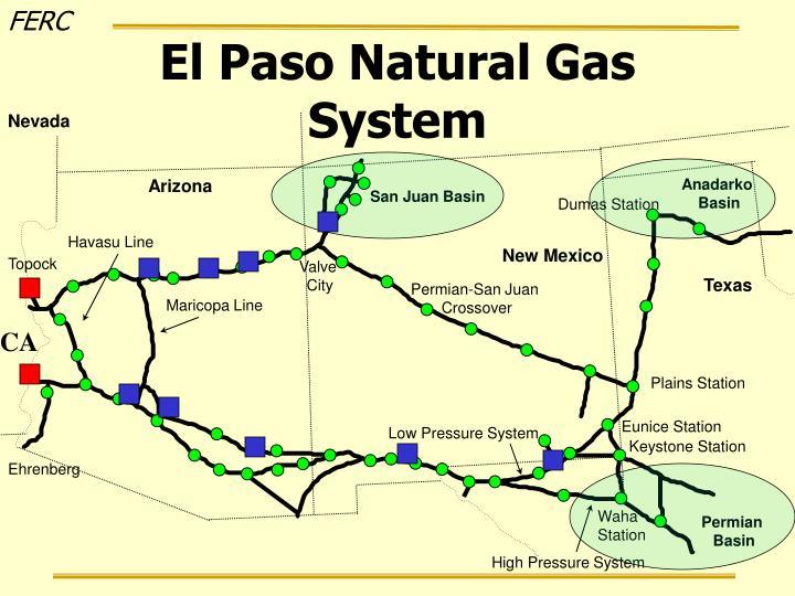 El Paso Natural Gas System
