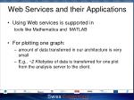 web services and their applications