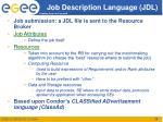 job description language jdl