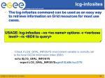 lcg infosites