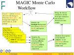 magic monte carlo workflow