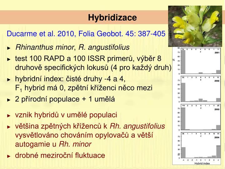 Hybridizace