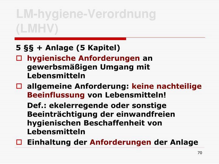 LM-hygiene-Verordnung