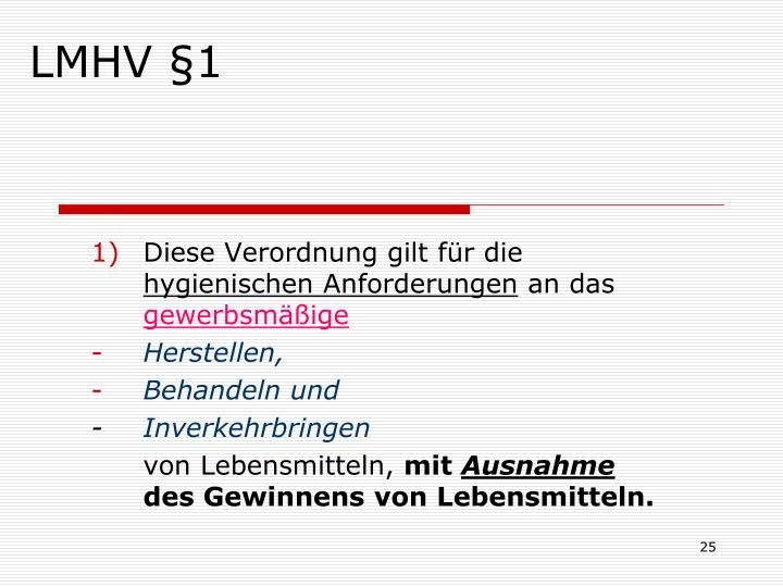 LMHV §1