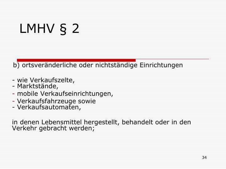 LMHV § 2