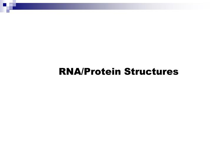 Rna protein structures