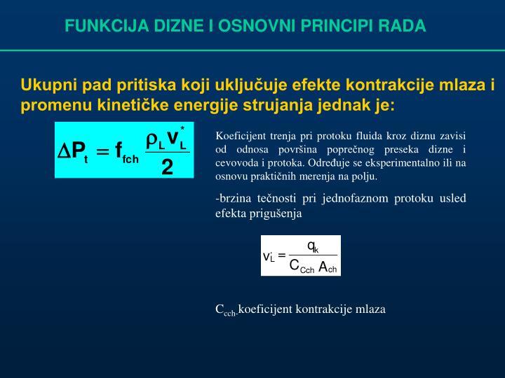 FUNKCIJA DIZNE I OSNOVNI PRINCIPI RADA