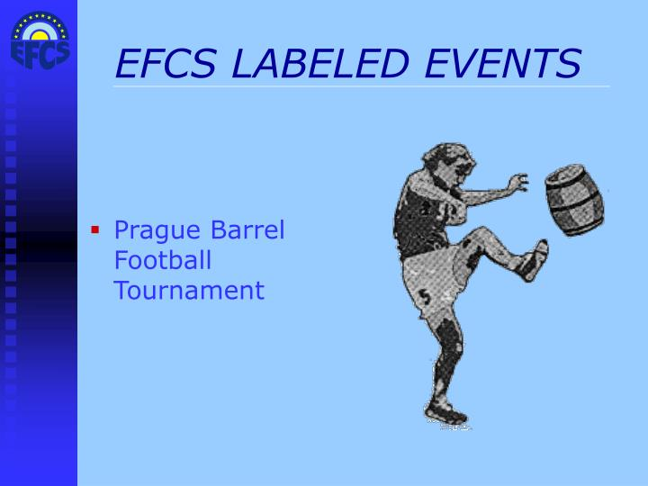 EFCS LABELED EVENTS