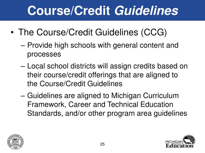 Course/Credit