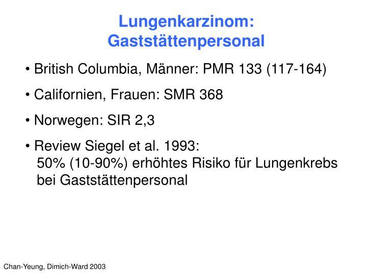 Lungenkarzinom: