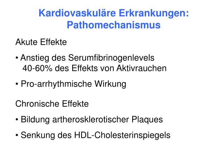 Kardiovaskuläre Erkrankungen: