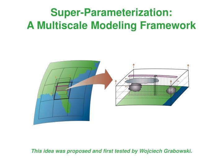 Super-Parameterization: