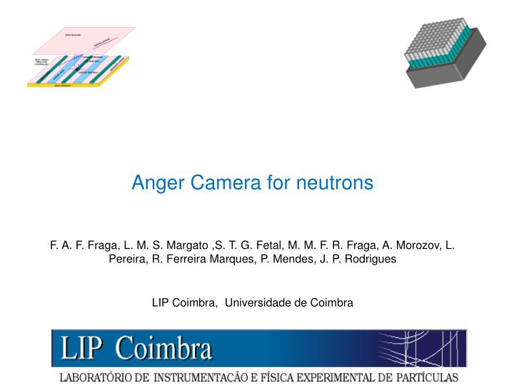 Anger Camera for neutrons