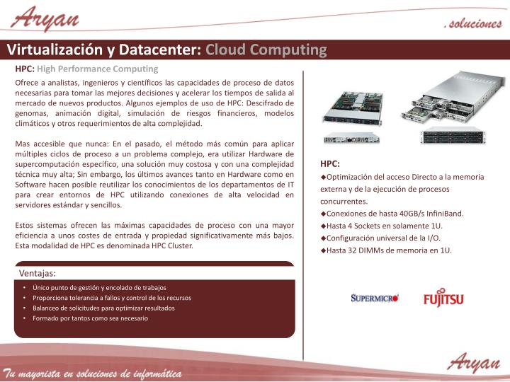 Virtualización y Datacenter: