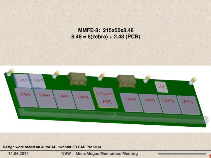 MMFE-8:  215x50x8.48