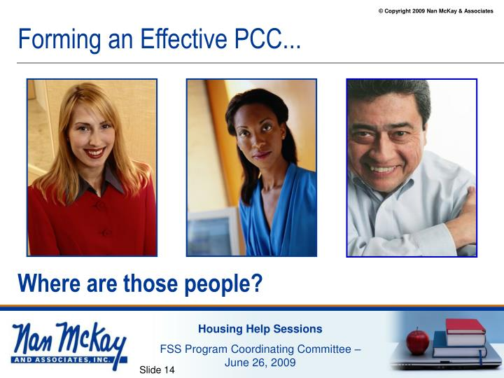 Forming an Effective PCC...