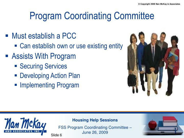 Program Coordinating Committee
