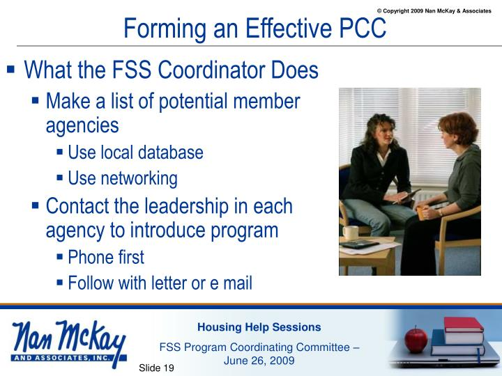 Forming an Effective PCC