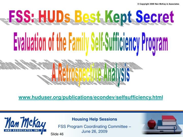 FSS: HUDs Best Kept Secret