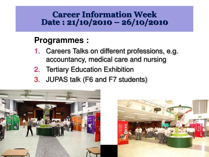 Career Information Week