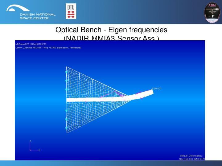 Optical Bench - Eigen frequencies