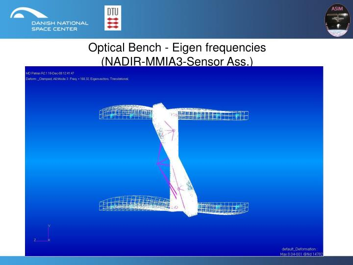 Optical Bench - Eigen frequencies