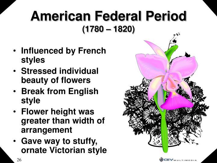 American Federal Period