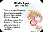 middle ages 476 1400 ad