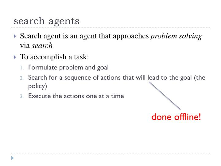 search agents