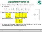 capacitors in series 2